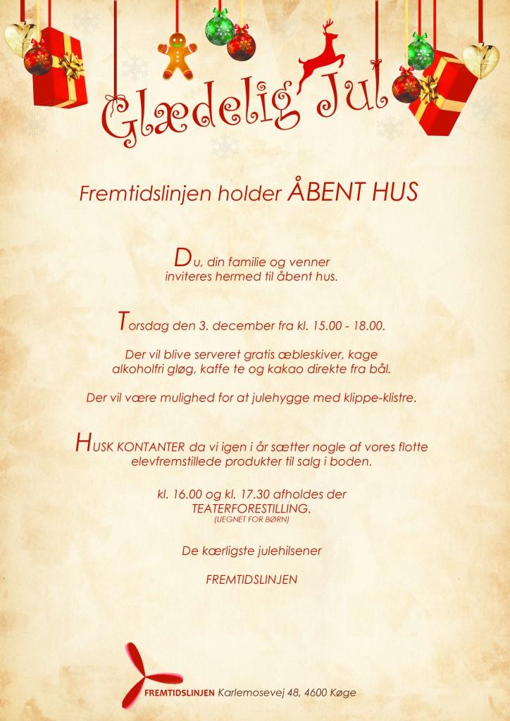 Åbent Hus 3. december