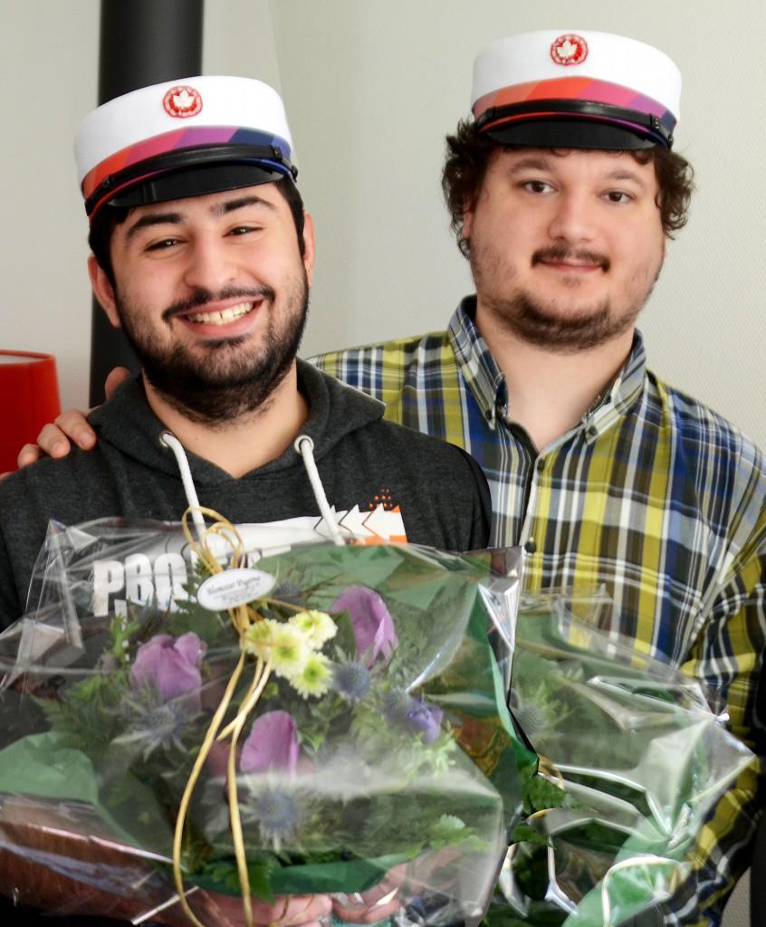 TILLYKKE til Jacob & Mehmet